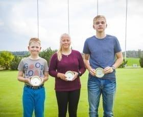 Saaremaa Golfiklubi noored tegid ajalugu