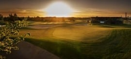 Saare Golf panorama with clubhouse (800x361)