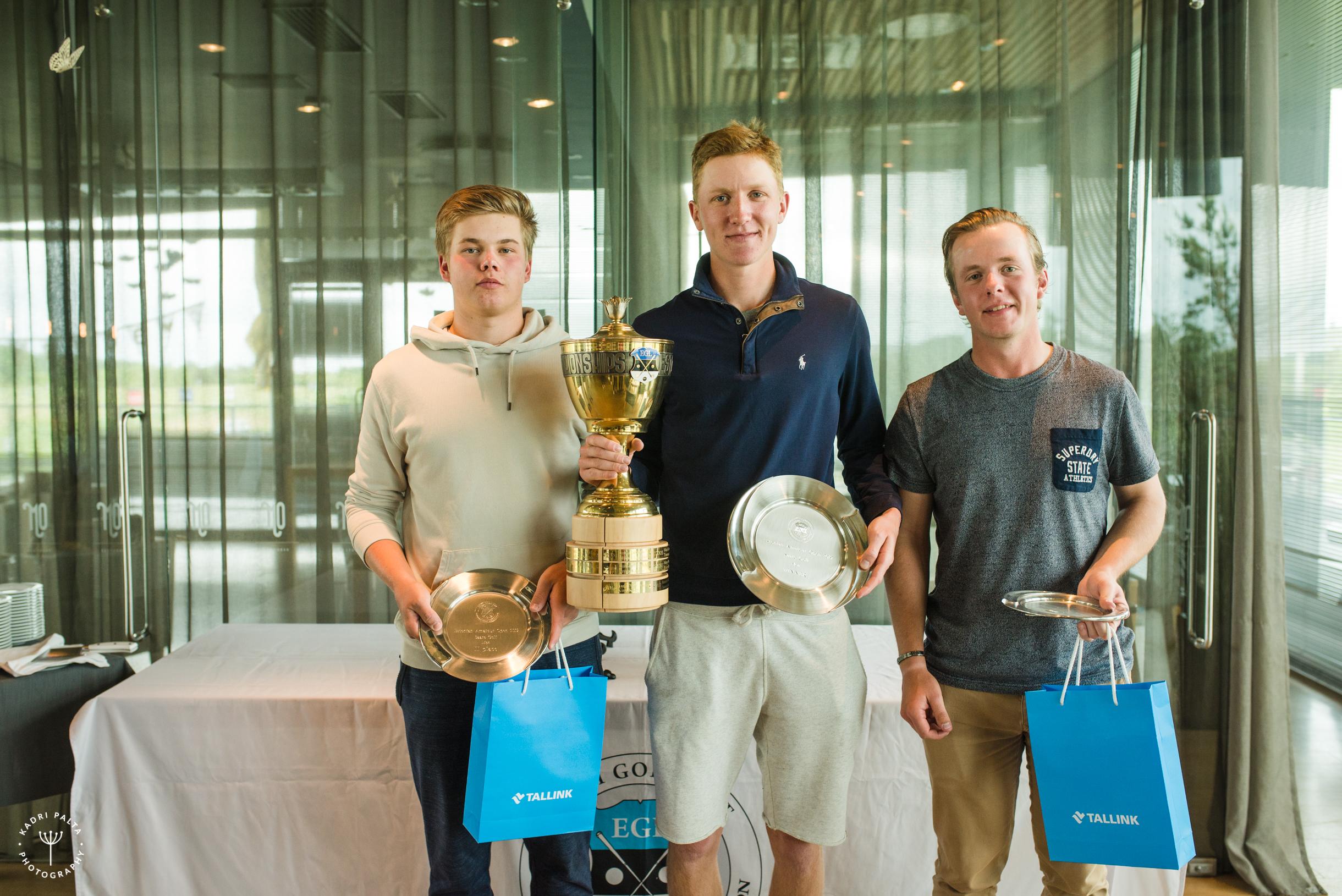 Saare Golf-Estonian Amateur Open 2019 võitjad