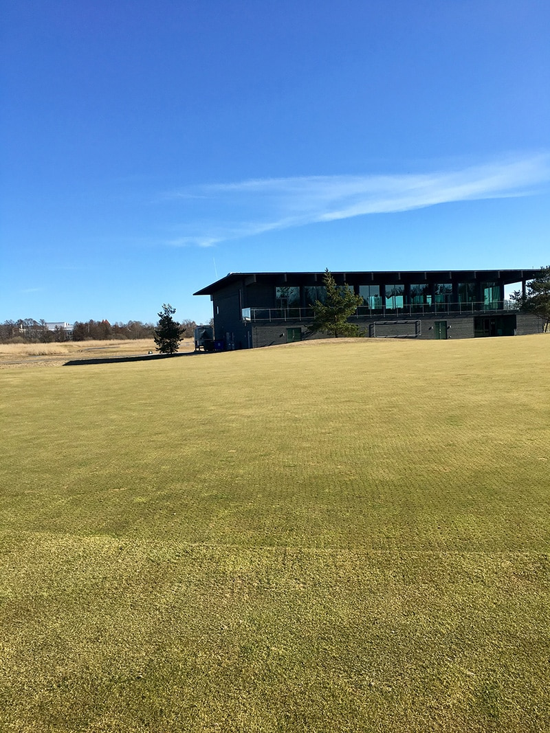Saare Golf clubhouse